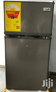 Protech 125 Double Door Gray Silver Fridge New | Kitchen Appliances for sale in Greater Accra, Achimota