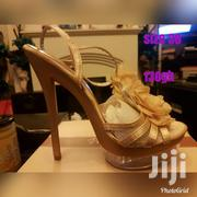 Yellow 5 Inches High Heels. Size 37 | Shoes for sale in Central Region, Cape Coast Metropolitan
