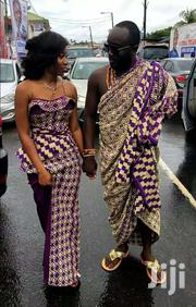 Nice Violet Bonwire Kente Cloth | Clothing for sale in Greater Accra, Labadi-Aborm