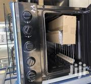 (4 Burner Gas Cooker With Oven Stainless Steel Black | Restaurant & Catering Equipment for sale in Greater Accra, Accra Metropolitan