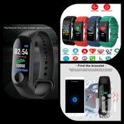 Smart Phone Watch, Blood Pressure/ Heart Rate Tracker, Fitnes Monitor | Smart Watches & Trackers for sale in Ashanti, Kumasi Metropolitan