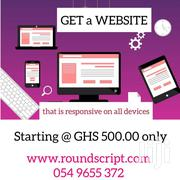 GET A WEBSITE FOR YOUR BUSINESS / YOURSELF | Automotive Services for sale in Greater Accra, Tesano