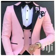 Classic Designer Pink Tuxedo 3-Piece Suit | Clothing for sale in Greater Accra, East Legon