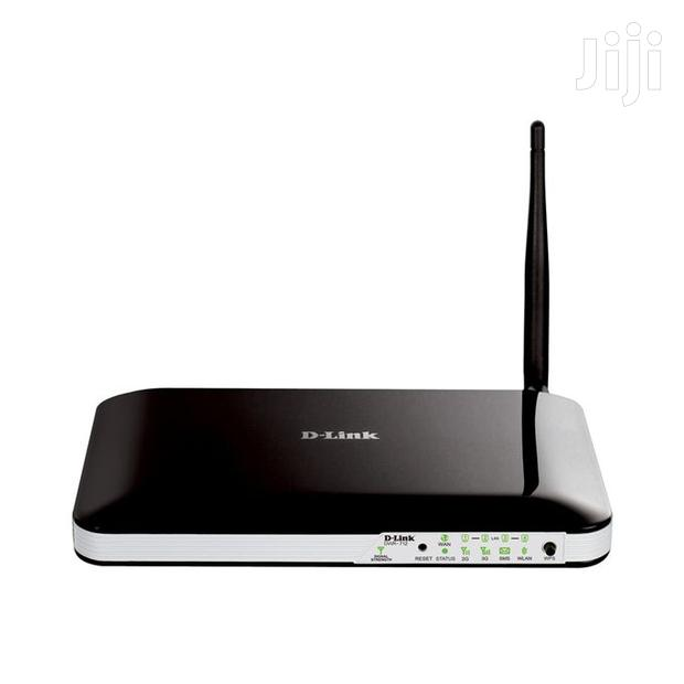 D-link DWR-712 3G Wireless N150 Router - Black