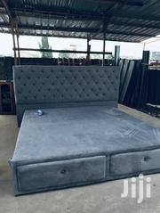 Proper King Size Bed Stuffing | Furniture for sale in Greater Accra, Abelemkpe