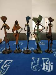 Hand Made Bronze Sculptures Of 5 Set Beautiful African Sisters.   Arts & Crafts for sale in Greater Accra, Adenta Municipal