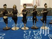 VINTAGE BURKINA FASO AFRICAN BRONZE MUSICIANS SCULPTURE   Arts & Crafts for sale in Greater Accra, Adenta Municipal
