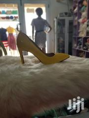 Yellow Pencil Heels | Shoes for sale in Central Region, Awutu-Senya