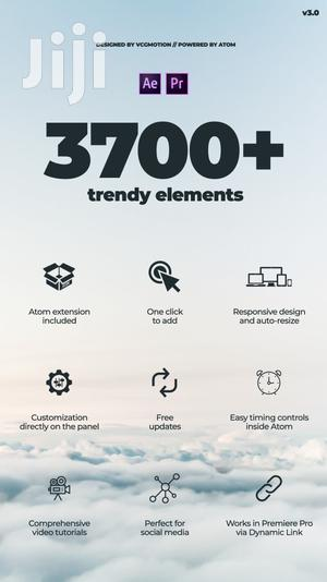 3700+ Trendy Motion Graphics Package