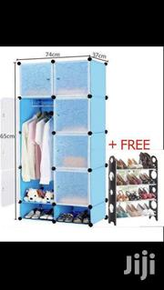Plastic Wardrobes And Free Shoe Rack | Furniture for sale in Greater Accra, Ga West Municipal