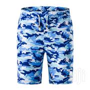 Men's Blue Camouflage Shorts | Clothing for sale in Greater Accra, Odorkor