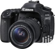 Canon EOS 80D DSLR Camera 18-55mm KIT Lens | Photo & Video Cameras for sale in Greater Accra, Darkuman