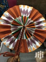 Producer Of Colourful African Fabric Foldable Hand Fans | Clothing Accessories for sale in Greater Accra, North Ridge