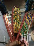 Producer Of Colourful African Fabric Foldable Hand Fans | Clothing Accessories for sale in North Ridge, Greater Accra, Nigeria