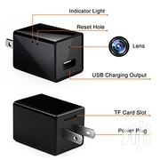 HD USB Wall Charger Adapter Wifi Hidden Spy Cam | Security & Surveillance for sale in Greater Accra, Dansoman