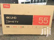 "Tcl 55"" Smart Uhd 4K Curved Led Tv 