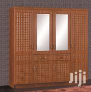 A Cute Wooden Four Door Wardrope | Furniture for sale in Greater Accra, North Kaneshie