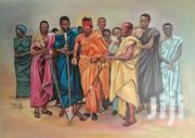 """Royal Gathering"" Oil On Canvas 