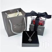 Elegant Flower Rose With Necklace For Her | Jewelry for sale in Greater Accra, North Ridge