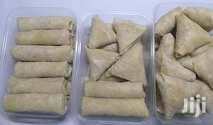Tasty Samosa And Spring Rolls For Sale