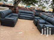 Black Sofa Leather Chair | Furniture for sale in Greater Accra, Tema Metropolitan