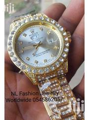 Quality Rolex Iced Watch Available at Affordable Price. | Watches for sale in Volta Region, Ho Municipal