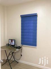 Deep Blue First Class Window Curtain Blinds | Windows for sale in Greater Accra, Adabraka