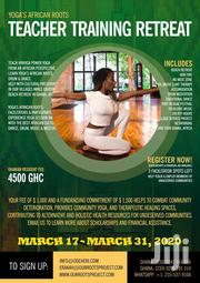 Yoga's African Roots Teacher Training | Fitness & Personal Training Services for sale in Greater Accra, Adenta Municipal