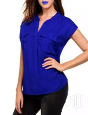 Ladies Chiffon And Cotton Top | Clothing for sale in Greater Accra, Airport Residential Area