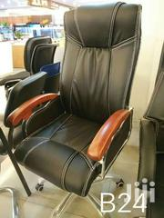 Leather Swivel Chair | Furniture for sale in Greater Accra, Kwashieman