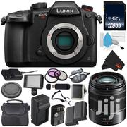 Panasonic Lumix Dcgh5s Mirrorless+ Lumix G Vario 14-140mm +3 Batteries | Photo & Video Cameras for sale in Greater Accra, Tema Metropolitan