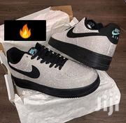 Original Nike Air Force 1 Silver Glitter | Shoes for sale in Greater Accra, Accra Metropolitan