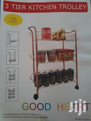 3-tier Home Moveable Kitchen Trolley With Wheels | Furniture for sale in Greater Accra, Accra new Town