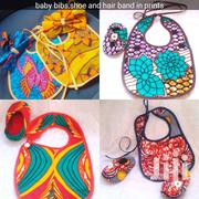 Ankara Baby Bibs And Shoe | Children's Shoes for sale in Greater Accra, Adenta Municipal