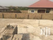 A Full Plot With Foundation For Sale   Houses & Apartments For Sale for sale in Central Region, Gomoa East