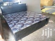Leather Queen Size Bed | Furniture for sale in Greater Accra, Ga West Municipal