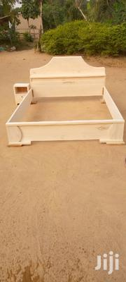 Brand New Quality Wooden Double Bed,Free Transportation | Furniture for sale in Greater Accra, North Kaneshie