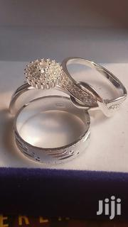 3 Sets Exquisite Sterling Silver Rings for Wedding and Engagement. | Jewelry for sale in Greater Accra, Tema Metropolitan