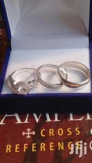 3 Sets Luxurious Sterling Silver Rings for Wedding and Engagement. | Jewelry for sale in Greater Accra, Tema Metropolitan