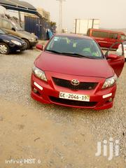 Toyota Corolla 2010 Red   Cars for sale in Greater Accra, Ga South Municipal