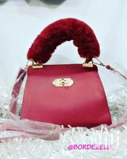 Cute Red Handbag With Shoulder Handle | Bags for sale in Greater Accra, Cantonments