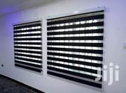 Classy Black Zebra Curtains Blinds For Homes And Offices | Home Accessories for sale in Greater Accra, Avenor Area