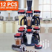 Easydeal 12 Jars Spices Rack Set | Kitchen & Dining for sale in Greater Accra, Accra Metropolitan