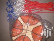 Basketball + Free Net + FREE DELIVERY   Sports Equipment for sale in Greater Accra, Accra Metropolitan