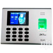 Zkteco K40 Time Attendance With TCP/IP, Usb-host Built-in Battery | Security & Surveillance for sale in Greater Accra, Osu