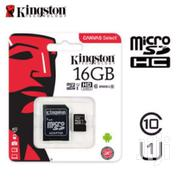 KINGSTON 16GB SD MEMORY CARD | Accessories for Mobile Phones & Tablets for sale in Greater Accra, Asylum Down