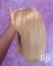 12 Inches Closure Fringe Wig Cap in Blonde | Hair Beauty for sale in Greater Accra, East Legon