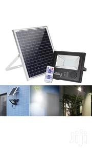 50 Watts Solar Music Waterproof Floodlight With Lithium Battery 100LED | Solar Energy for sale in Central Region, Effutu Municipal