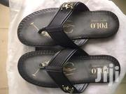 Black Leather Slippers | Shoes for sale in Greater Accra, Akweteyman