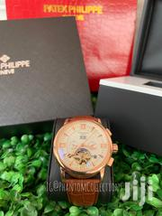 Patek Philippe Engine Leather Watch | Watches for sale in Greater Accra, Adenta Municipal